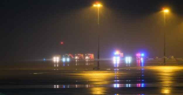 Incident at the airport Hannover - flight four hours, interrupted