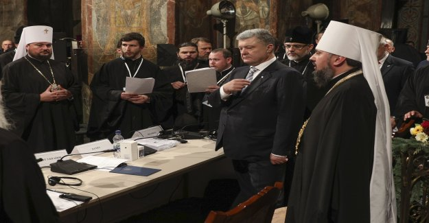Independent orthodox church formed in Ukraine