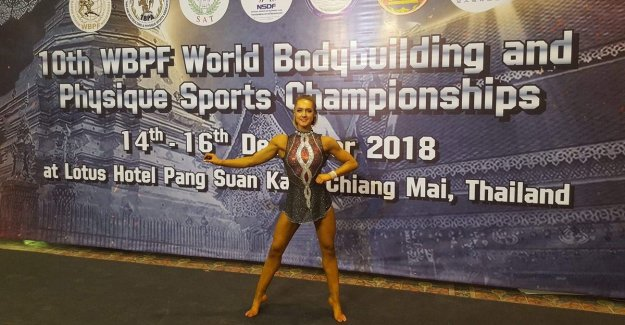 Injury cost her a great career in gymnastics, now tackles Marlies (24) title at the world CHAMPIONSHIPS Bodybuilding