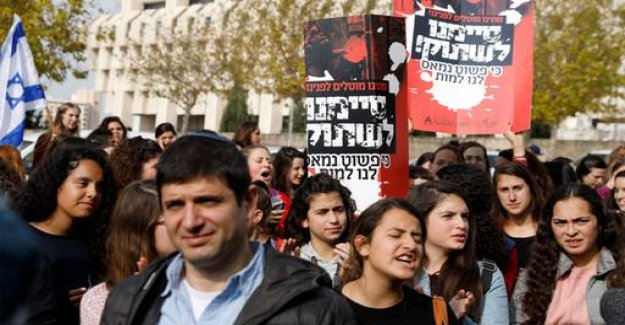 Israeli Minister to protest against their own government