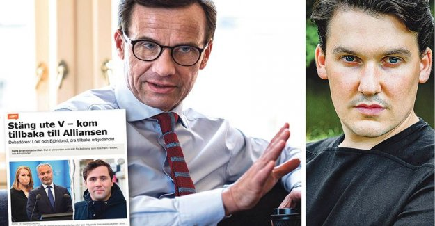 It is Ulf Kristersson who betray the Alliance