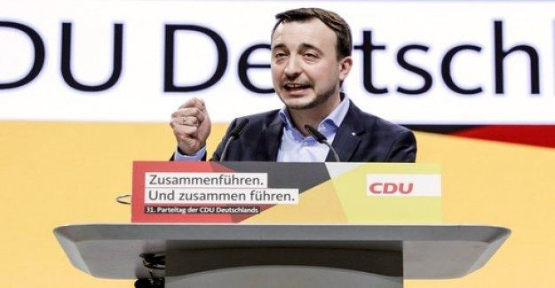 JU-chief Ziemiak to CDU General Secretary be