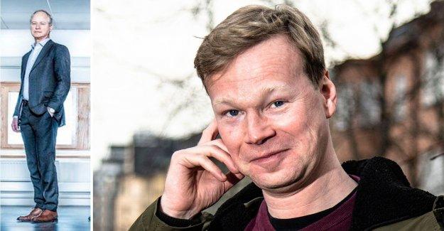 Johan Glans said no to the dark role