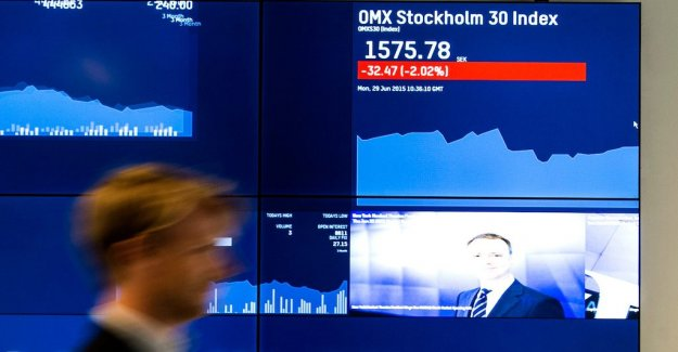 Jump for joy on the stockholm stock exchange