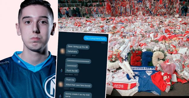 Kicked – after the comments about Hillsborough