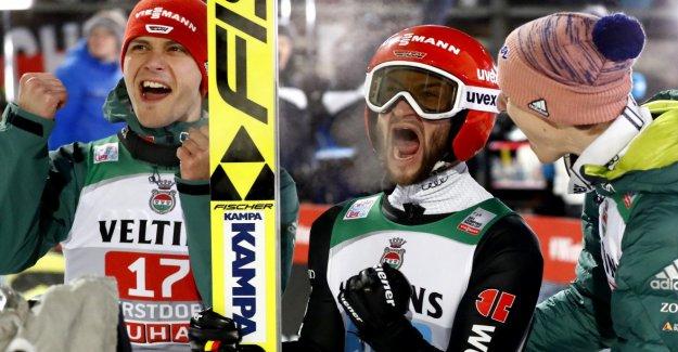 Kobayashi wins, Eisenbichler strong Second