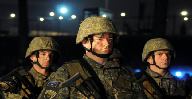 Kosovo is endowed Army, and unleash the tension in the Balkans