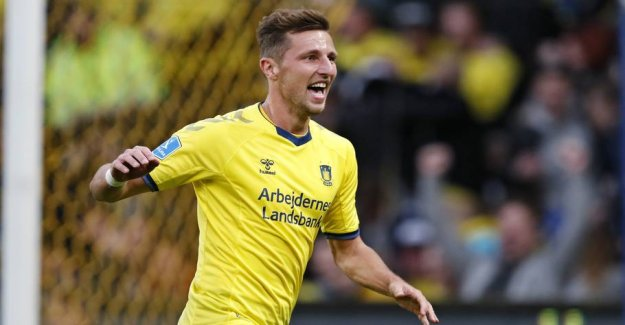 Late christmas gift for the Brøndby-fans: Extends with superbomber