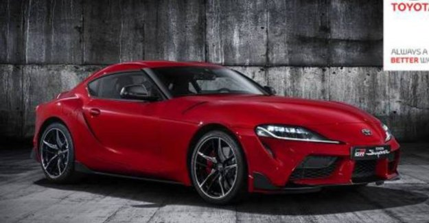 Leaked: this is the new Toyota Supra