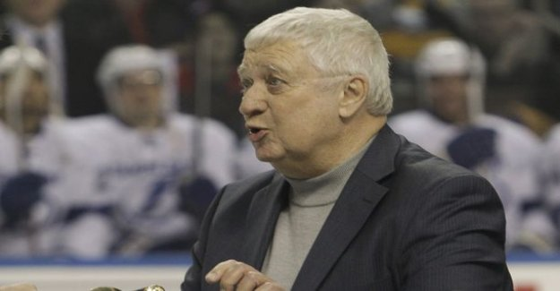 Legendary NHL commentator stopped talking in the middle of the lot - was rushed to the hospital