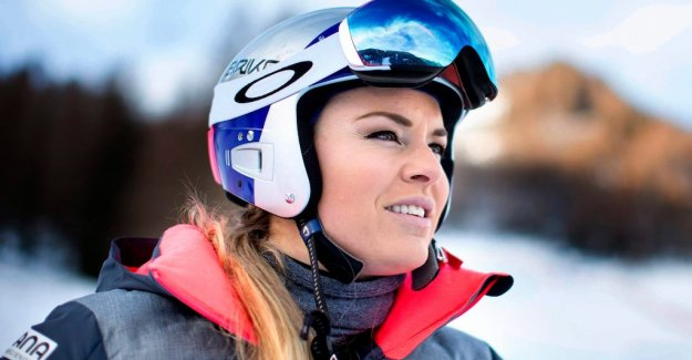 Lindsey Vonn is aiming for a comeback in January