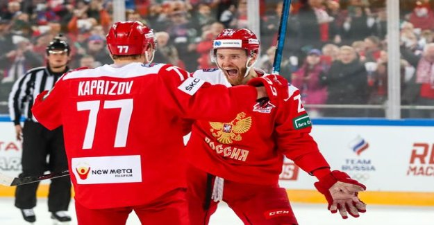 Lions rout - Russia entertained the paint party, more than 70 000 spectators!