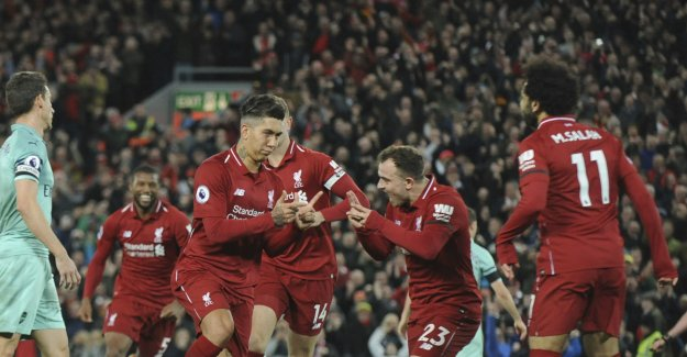 Liverpool made the're ground to a pulp by Arsenal after skrekkåpning