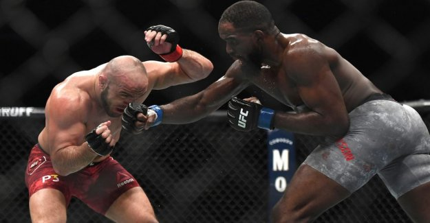 Loss for tired Latifi against Anderson