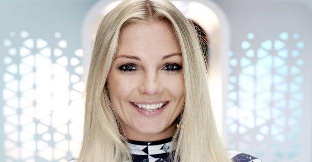 Love burst: Caroline Fleming has been single