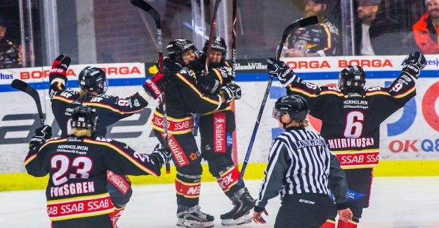 Luleå took revenge on Modo