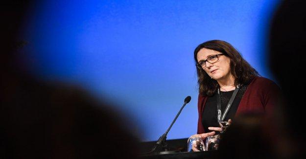 Malmström: I'm finished with politics