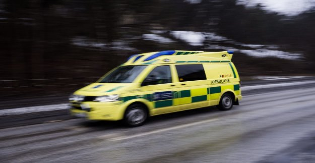 Man seriously injured in accident in Borlänge