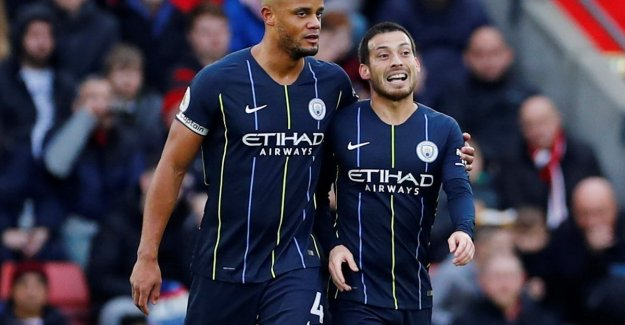 Manchester City, with Kompany the whole match on the field, close in 2018 on a positive note: 'Citizens' win earned with 1-3 on the field of Southampton