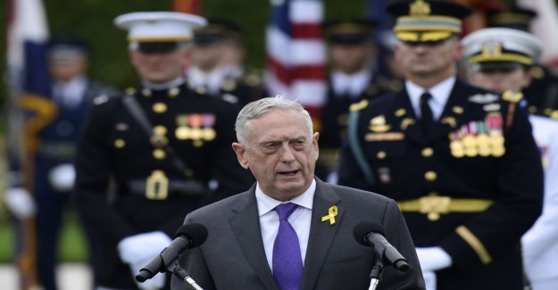 Mattis calls for firmness in the us