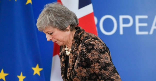 May and Blair in the open arguments about Brexit