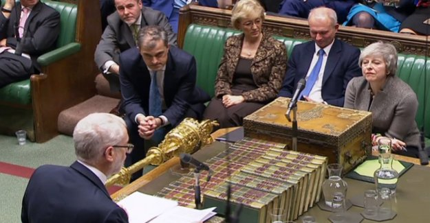 May and Corbyn in the Brexit-the final stage : the backbenchers the followers refuse