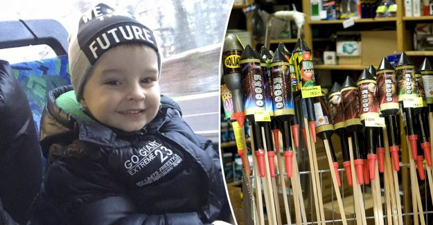 Milton, 2, close damaged in rocket attack – saved by the unknown hero