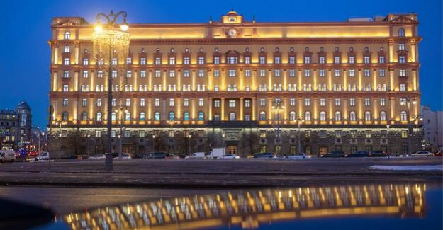 Moscow : the Russian secret service arrest of alleged U.S. spy