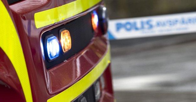 Multi-family in Skarpnäck were evacuated