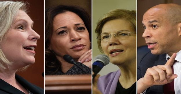 NOW: Four senators in the starting of the Us presidential race – Trump's early challengers want to immediately the upper hand over the white male candidates