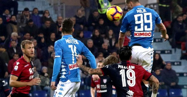 Napoli and sunken Mertens only in absolute final over Cagliari: Owned with late vrijschop for a decisive hit