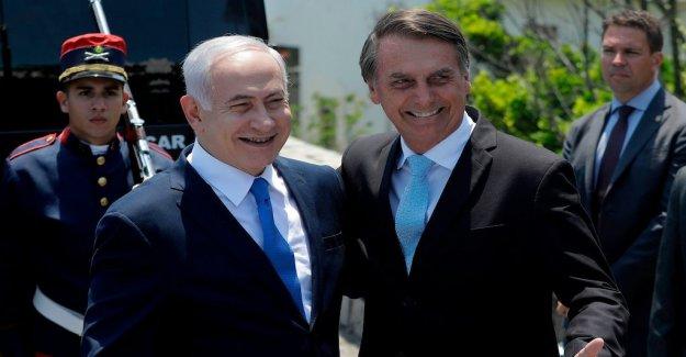 Netanyahu hopes that Brazil will move embassy to Jerusalem