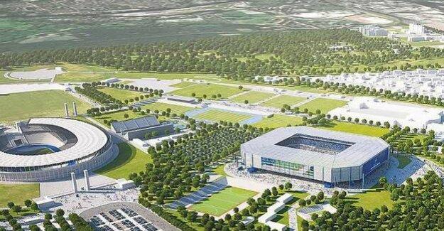 New construction plans in the Olympic Park : Hertha must wait longer for new stadium