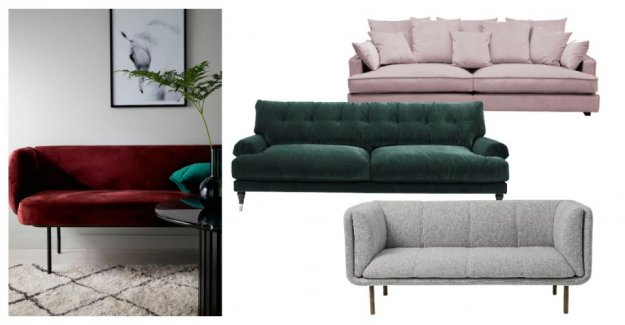 New sofa – this is autumn hotties