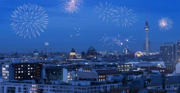 New year's eve 2018 : So you come up in Berlin well into the new year