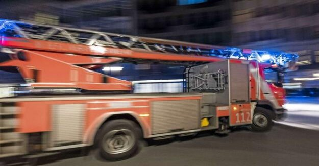 New year's eve in Berlin : high-rise fire in the Leipziger road ends lightly