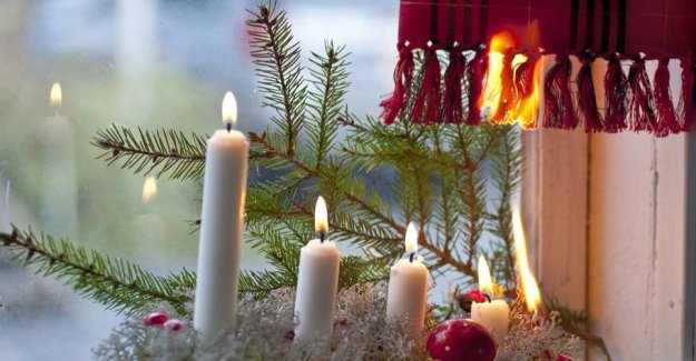 Nine tips to avoid fire in christmas