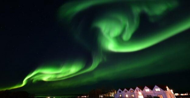 Northern lights : Colourful spectacle in the night sky