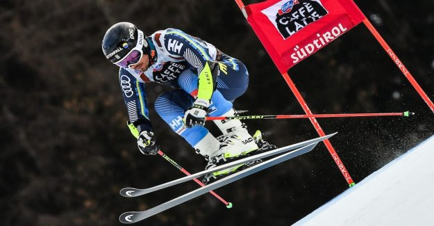Olsson third place finish in Alta Badia
