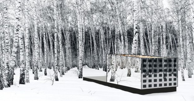 Outside is 30 degrees below zero, but you don't need heating - Turku lived in an architect designed a special country retreat