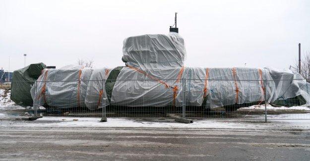 Peter Madsen's submarine has been scrapped