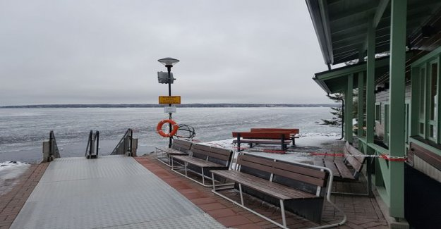 Pictures! Tampere winter swimming place became a drug dealer place, these trays of cocaine were hidden - Is here the police bike