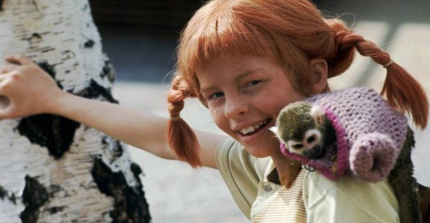 Pippi-star reveals the secret from the footage