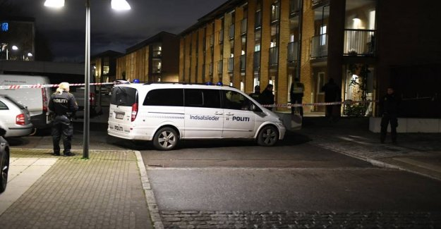 Police: Shot in Copenhagen, the outskirts can be swap