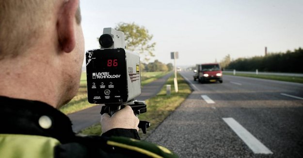 Police rages over the drivers: Here went 1211 speeders in the trap