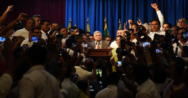 Power struggle in Sri Lanka is completed