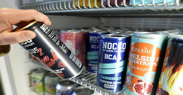 Proposal: Limit the caffeine content in energy drink