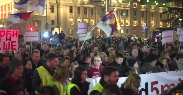 Protests in Serbia for the third weekend in a row