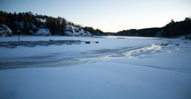 Quad bike trail ended in an ice-hole - the coast guard warns: Sea ice is not going to in any area