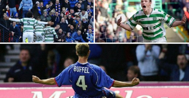 Rangers won today, the battle for Glasgow: five previous Old Firms that the Scots or the Belgians themselves will long remember